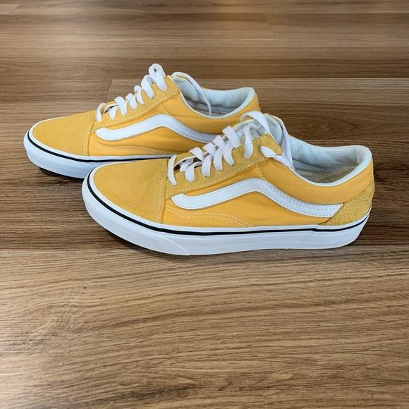 Vans Shoes | Old Skool Ochre True White